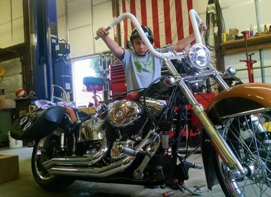 Michael Dworchak's bike with Samson Rip Saws